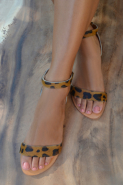 Jane Strap Leopard HOT LAVA