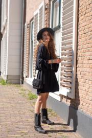Dress Ginger Black HOT LAVA