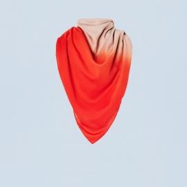 Sjaal in twee kleuren