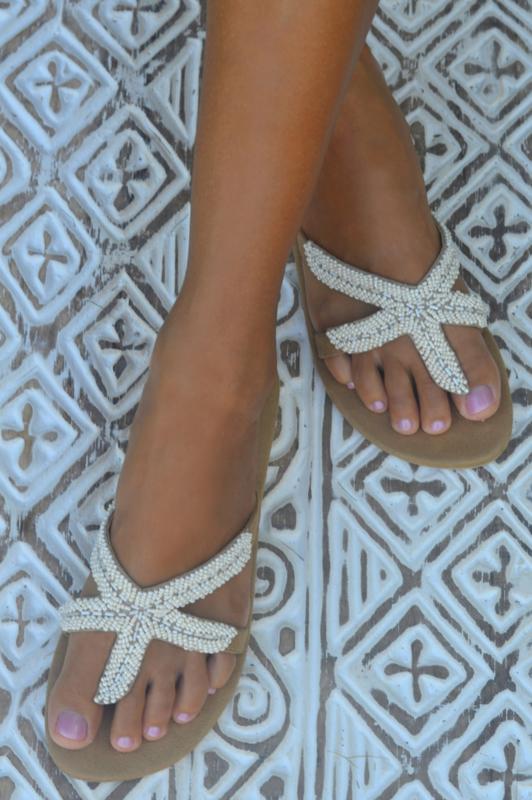 Starfish slipper HOT LAVA