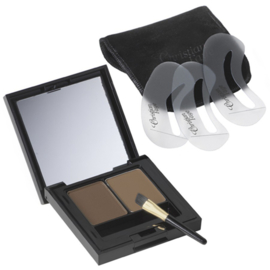 Christian Faye Wenkbrauwpoeder Duo Kit dark brown 3gr