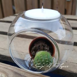 Kaarsenhouder Glas