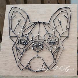 Geometrische Franse Bulldog