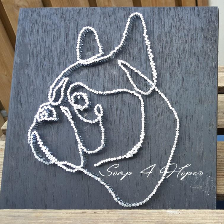 Franse Bulldog van Spijkers
