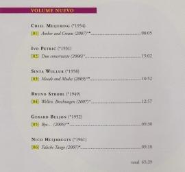 DUO MARES: Volume Nuevo (2010)