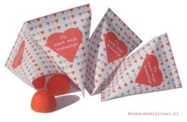 Valentijn snoep cadeautje