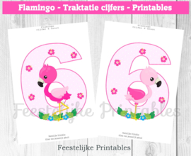Flamingo traktatie cijfers