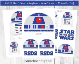 R2D2 Star Wars Centerpieces