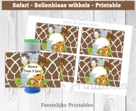 Safari Bellenblaas wikkel