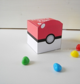 Pokemon Pokeball Traktatie doosje