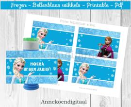 Frozen Bellenblaas wikkel