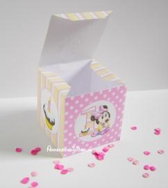 Minnie Mouse 1ste Traktatie doosje