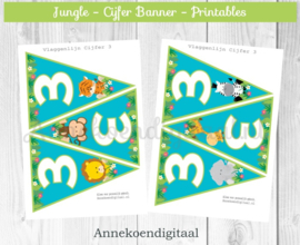 Jungle Cijfer Slinger