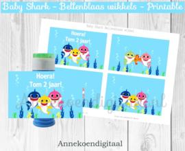 Baby Shark Bellenblaas wikkel