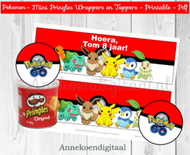 Pokemon Mini Pringles Wikkels