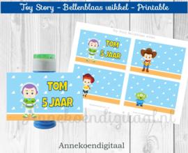 Toy Story Bellenblaas wikkel