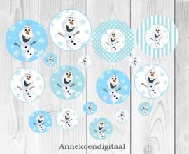 Frozen Olaf Toppers