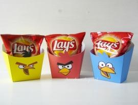 Angry Birds chips traktatie bakje
