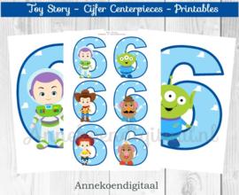 Toy Story Cijfer centerpieces