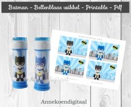 Batman Bellenblaas wikkel