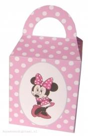 Minnie Mouse Traktatie doosje Roze