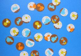 Dino Confetti 1 inch