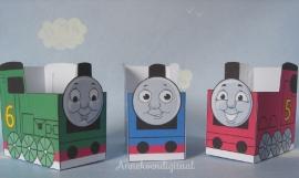 Thomas de trein en vrienden traktatie