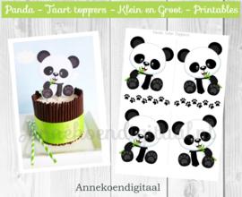 Panda Taart Topper