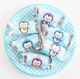 Pinguïns traktatie Wikkels 3 maten