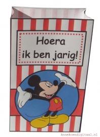Mickey Mouse Popcorn traktatie