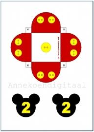 Mickey Mouse Cupcake bakje