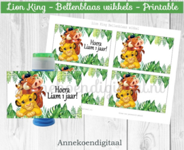 Lion King Bellenblaas wikkel