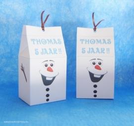 Olaf Frozen traktatie