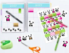 Panda Agenda Stickers