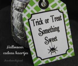 Halloween Cadeau kaartjes