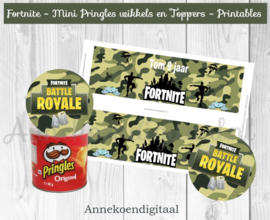 Fortnite Mini Pringles Wikkels