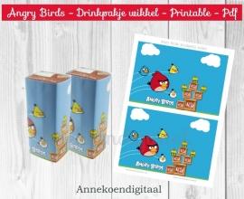 Angry Birds drinkpakje wikkel