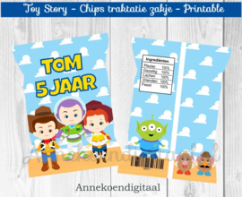 Toy Story chips traktatie zakje