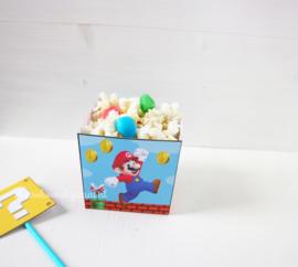 Mario traktatie bakje