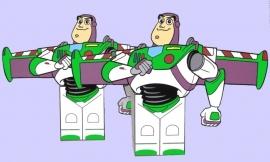 Toy Story Buzz Lightyear traktatie