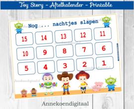 Aftelkalender Toy Story
