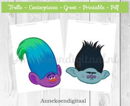 Trolls Centerpieces