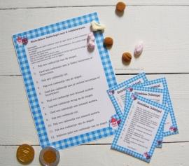Sinterklaas Dobbelspelregels