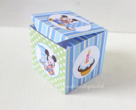 Mickey Mouse 1ste Traktatie doosje