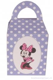 Minnie Mouse Traktatie doosje Violet