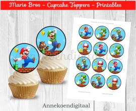 Super Mario Toppers 2 inch