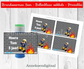 Brandweerman Sam Bellenblaas wikkels
