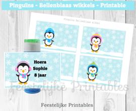 Pinguïns Bellenblaas wikkel