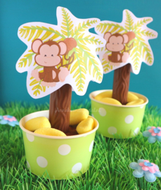Jungle Aapjes GRATIS printable