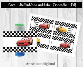 Cars Bellenblaas wikkel